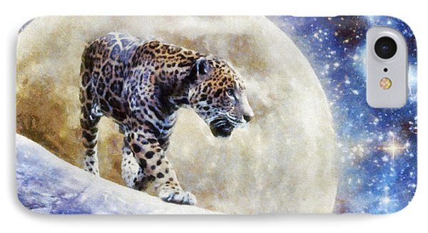Leopard Moon IPhone Case by Greg Collins