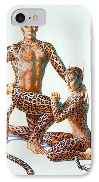 Leopard People Phone Case by Andrew Farley