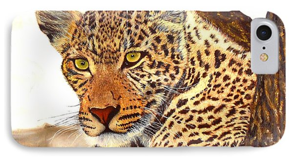 Leopard Point Of View IPhone Case