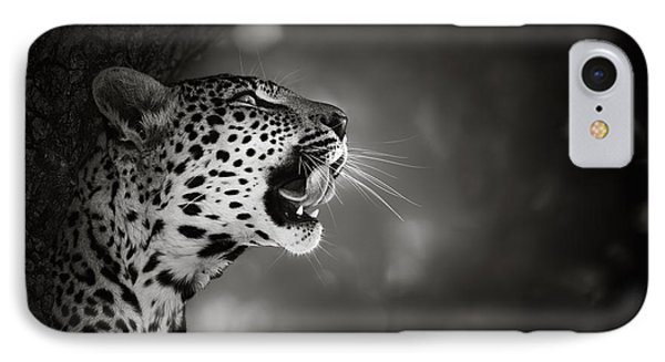 Nature iPhone 7 Case - Leopard Portrait by Johan Swanepoel