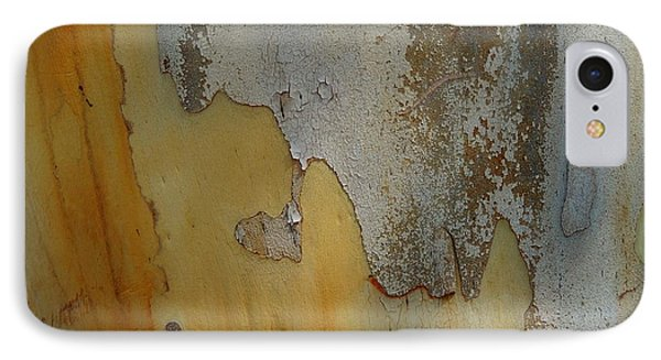 Leopard Tree Bark Abstract No.3 Phone Case by Denise Clark