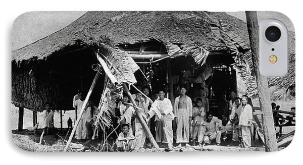 Lepers In The Philippines IPhone Case by National Library Of Medicine