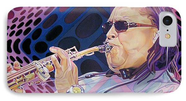 Leroi Moore IPhone Case by Joshua Morton