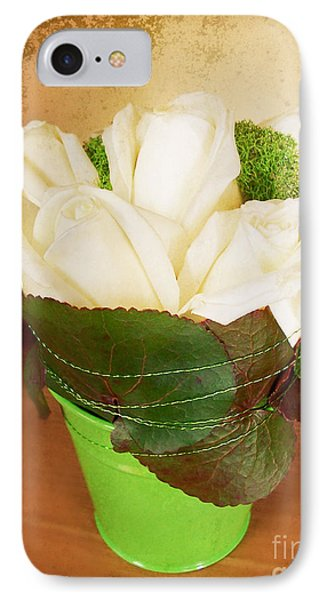 IPhone Case featuring the photograph Les Fleurs by Maria Janicki