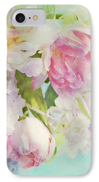 Les Fleurs IPhone Case by Theresa Tahara