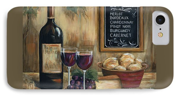 Les Vins Phone Case by Marilyn Dunlap