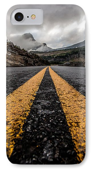 Less Traveled IPhone Case by Aaron Aldrich