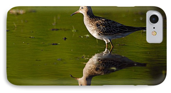 Lesser Yellowlegs Phone Case by Larry Ricker