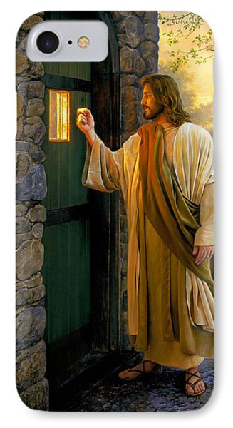 Let Him In IPhone Case by Greg Olsen