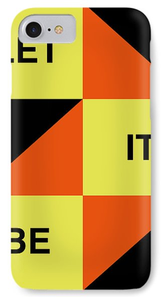 Let It Be Poster IPhone Case
