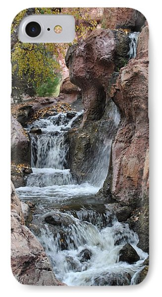 IPhone Case featuring the photograph Let It Fall by Amanda Eberly-Kudamik