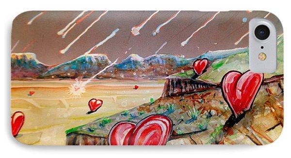Let It Rain IPhone Case by Steven Holder