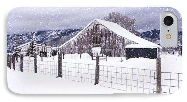 Let It Snow IPhone Case by Kristal Kraft