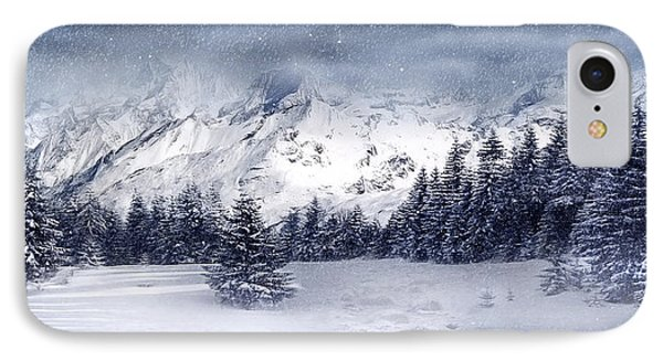 Let It Snow IPhone Case by Svetlana Sewell