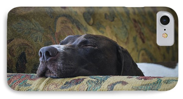 IPhone Case featuring the photograph Let Sleeping Dogs Lie. by Phil Abrams