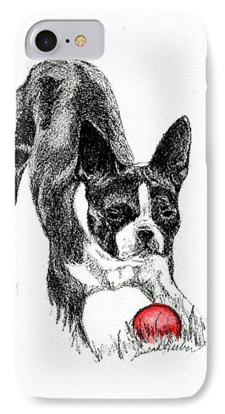 Let The Game Begin IPhone Case by Susan Herber