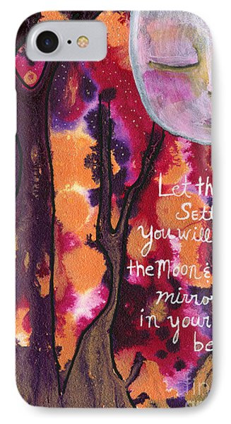Let The Water Settle IPhone Case