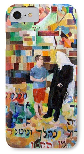 Let Us Make Man  Phone Case by David Baruch Wolk