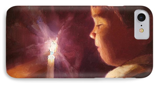 Let Your Light Shine 2 IPhone Case by Karen Whitworth