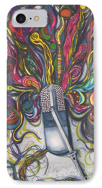 Let Your Music Flow In Harmony Phone Case by Chrisann Ellis