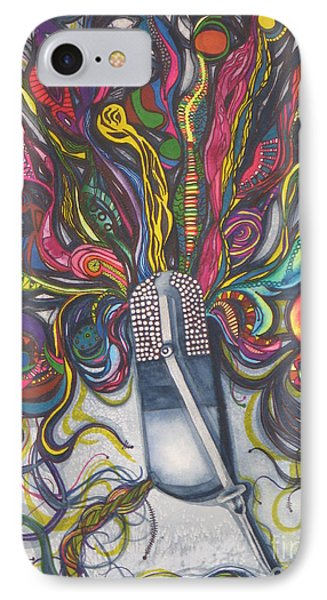 Let Your Music Flow In Harmony IPhone Case by Chrisann Ellis