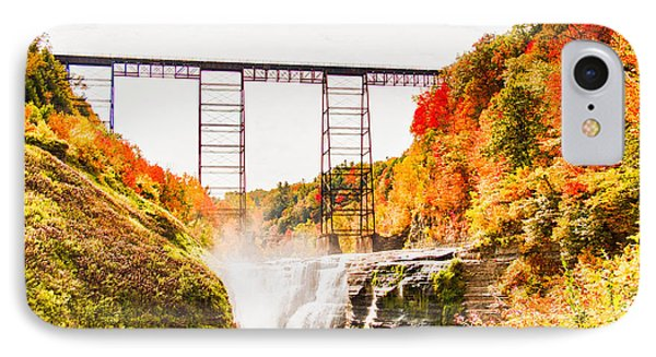 Letchworth State Park IPhone Case by Jim Lepard