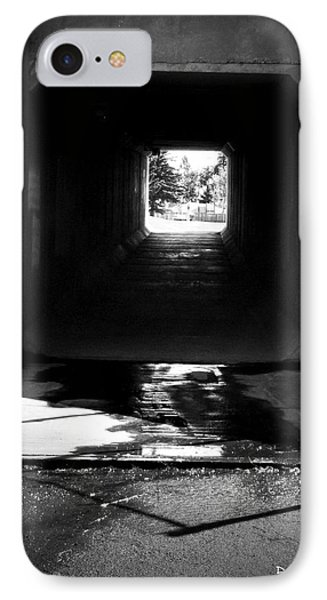 Lethbridge Underpass IPhone Case by Donald S Hall