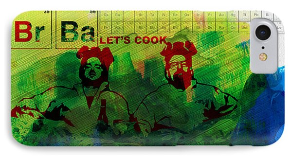 Let's Cook Watercolor IPhone Case