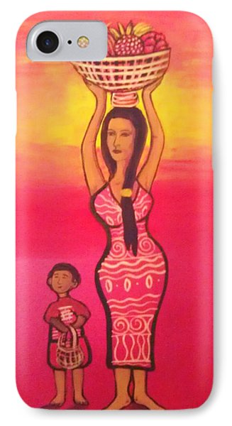 Lets Feed The Hungry Phone Case by Deyanira Harris