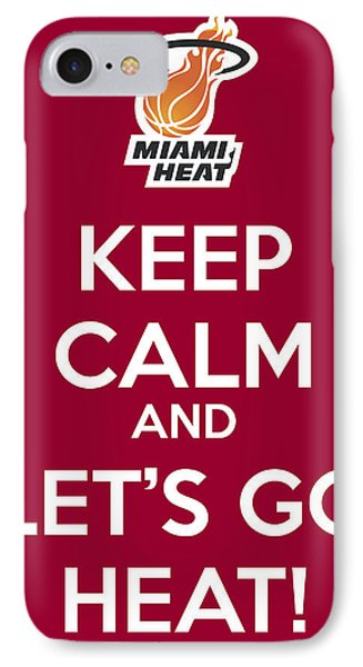 Let's Go Heat Poster IPhone Case