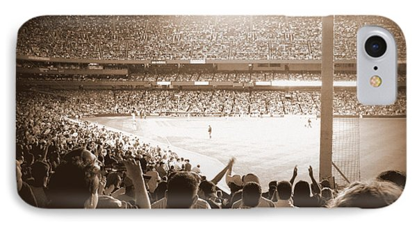 IPhone Case featuring the photograph Let's Go Yanks by Aurelio Zucco