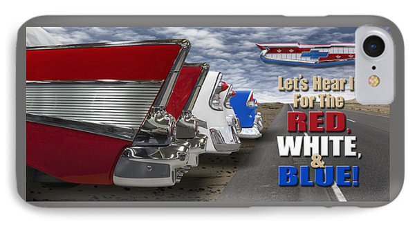 Lets Hear It For The Red White And Blue IPhone Case