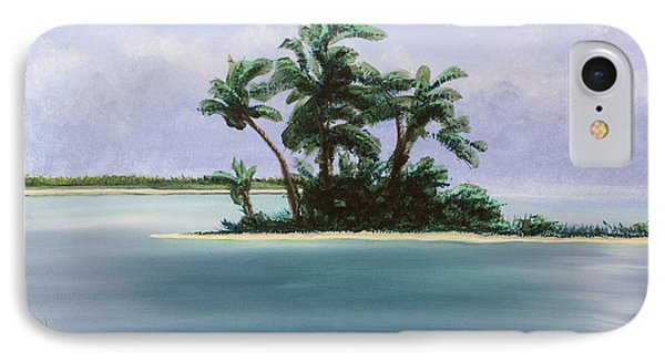 Let's Swim Out To The Island IPhone Case