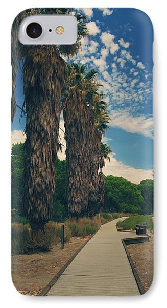 Let's Walk This Path Together IPhone Case by Laurie Search