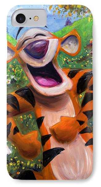 Let's You And Me Bounce - Tigger IPhone 7 Case by Andrew Fling