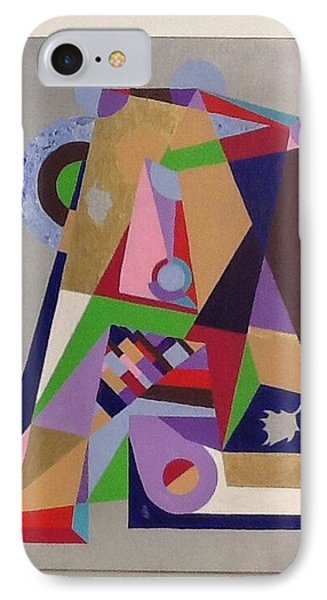 IPhone Case featuring the painting Letter A by Hang Ho