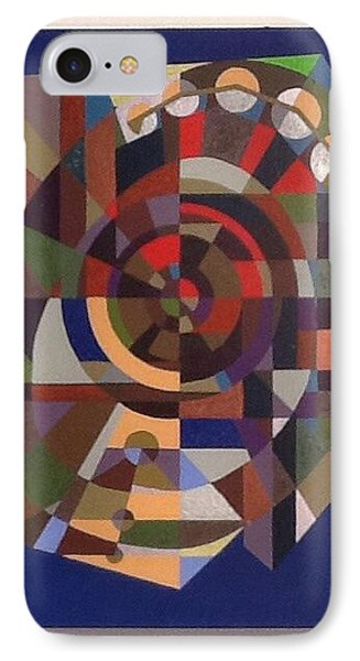 IPhone Case featuring the painting Letter O by Hang Ho