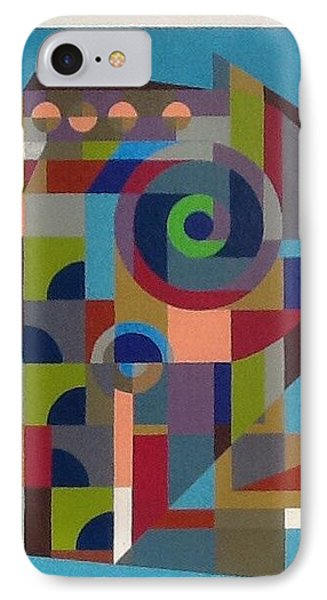 IPhone Case featuring the painting Letter P by Hang Ho