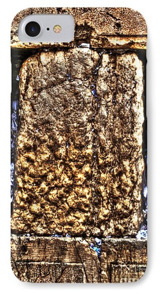 IPhone Case featuring the photograph Letters In The Wailing Wall by Doc Braham