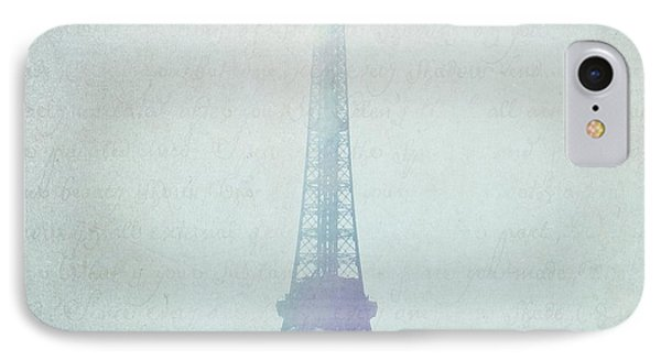 Letters From Paris IPhone Case by Lisa Parrish