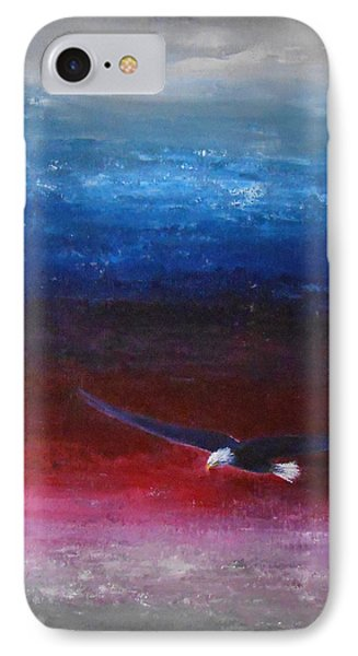 IPhone Case featuring the painting Letting Go by Jane  See