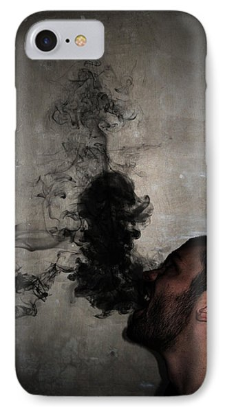 Letting The Darkness Out IPhone Case by Nicklas Gustafsson