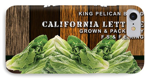 Lettuce Patch IPhone Case by Marvin Blaine