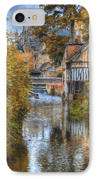 L'eure A Louviers IPhone Case by Jean-Pierre Ducondi