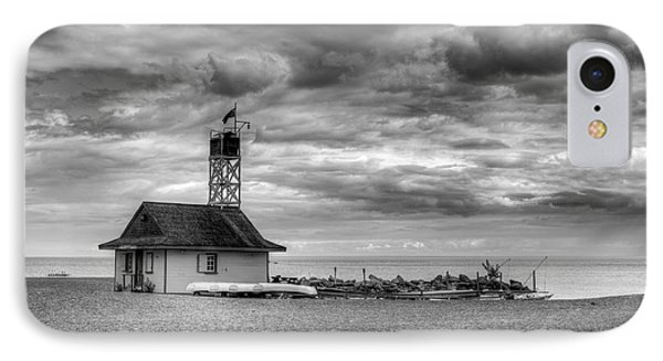 Leuty Lifeguard Station IPhone Case by Ross G Strachan