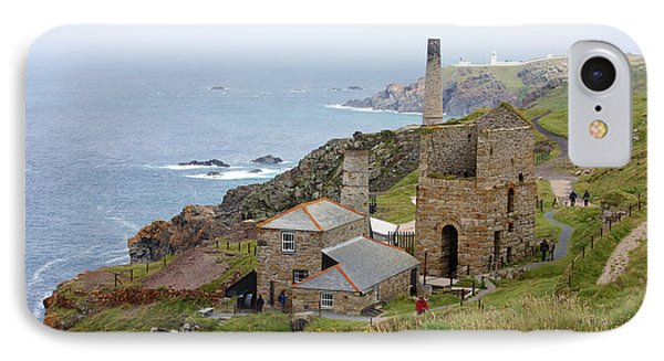 Levant Mine And Beam Engine Phone Case by Terri Waters