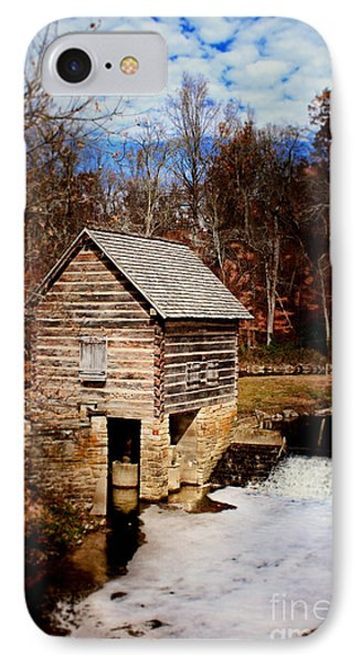Levi Jackson Park Water Mill IPhone Case by Stephanie Frey