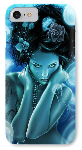 Leviathan Phone Case by Pete Tapang