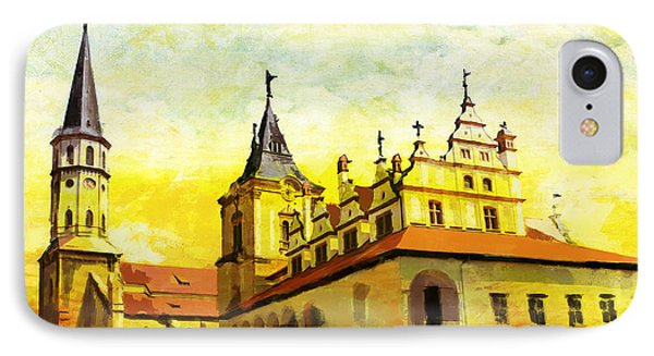 Levoca Spissky Hrad And The Associated Cultural Monuments IPhone Case by Catf