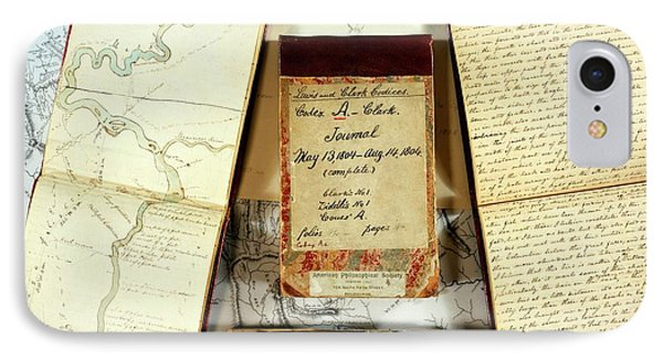 Lewis And Clark Expedition Journals IPhone Case by American Philosophical Society